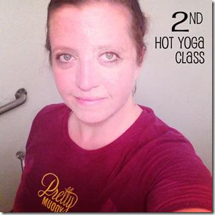 hot yoga 2nd class