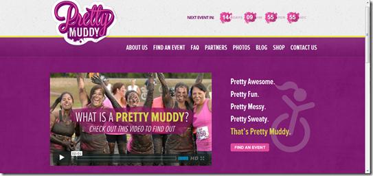 prettymuddy 2013 webpage