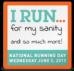 running day 13 badge