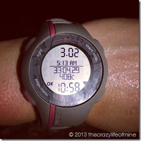 Week 2 Tuesday run