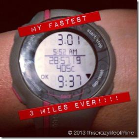 Week 4 FWednesday run