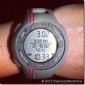 Week 4 Friday run