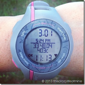 week 8 tuesday run