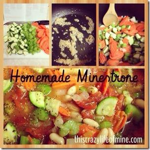 homemade minestrone insta